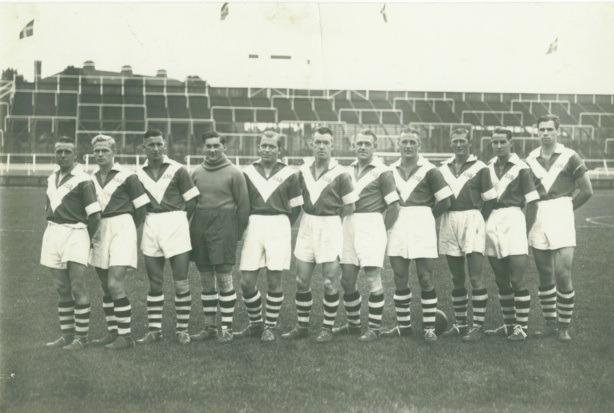 gammelt fodboldhold