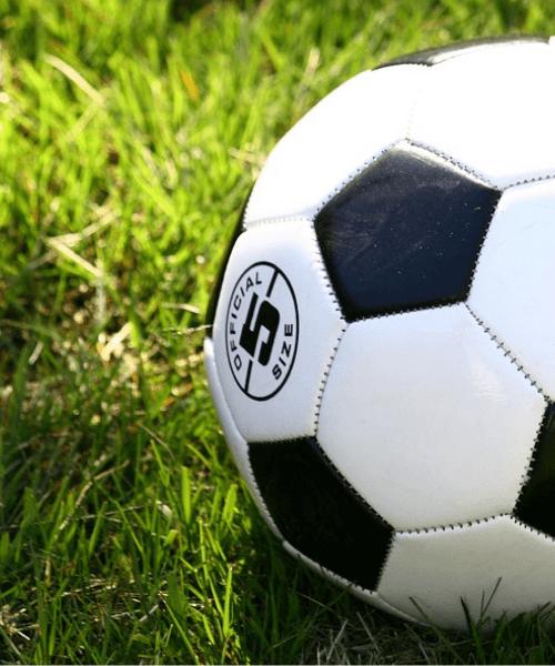 Fodbold Sort-hvid