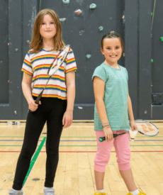 Badminton Børn – Begyn./let øve. (8-11 år) 21/22